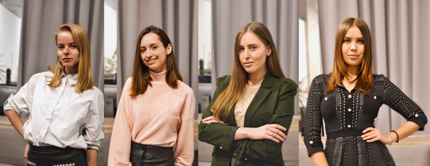 Maria, Julia, Alexandra, Maria, Talent Acquisition Specialists and Talent Analyst,  Genesis Investments