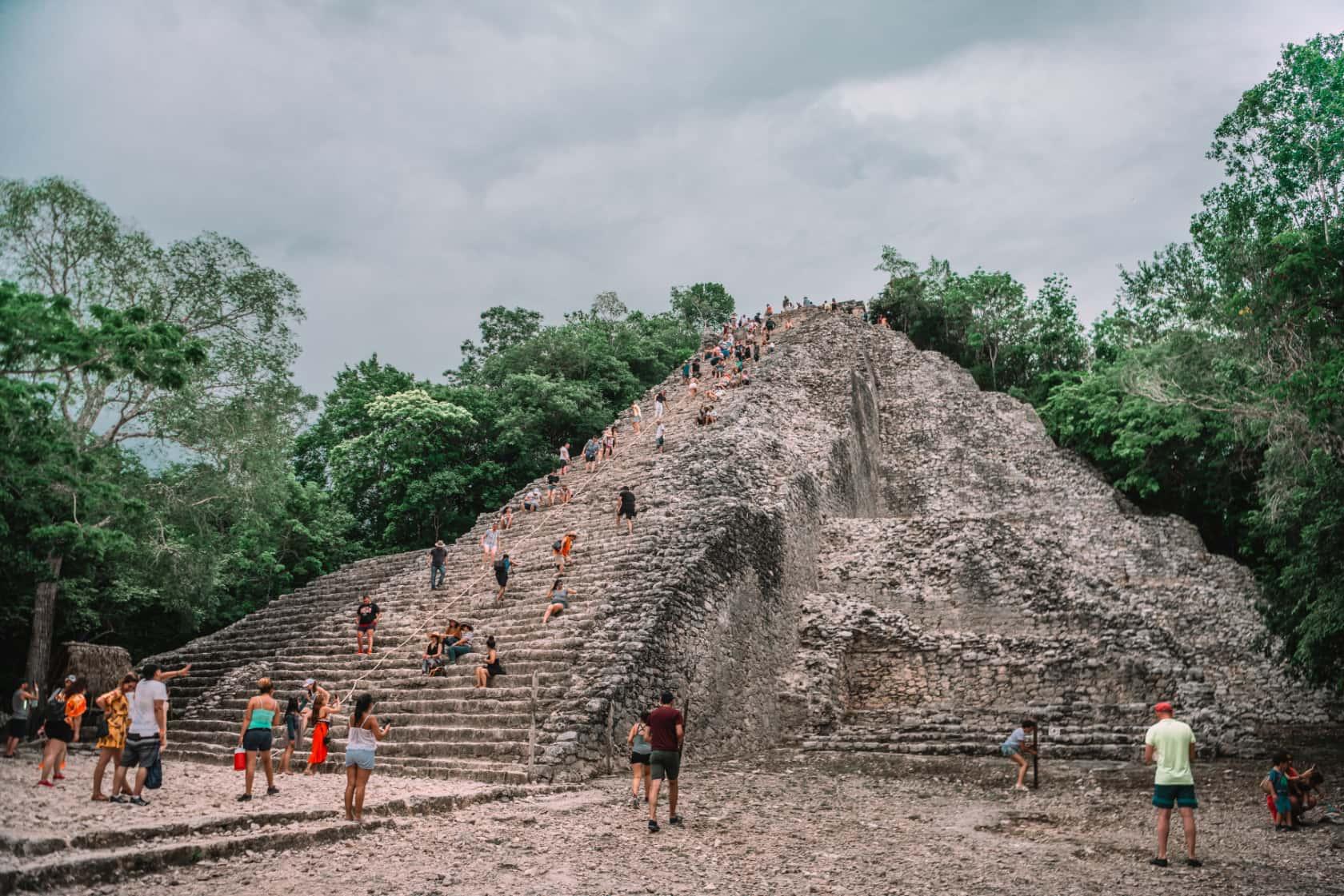 Экскурсия по руинам Коба