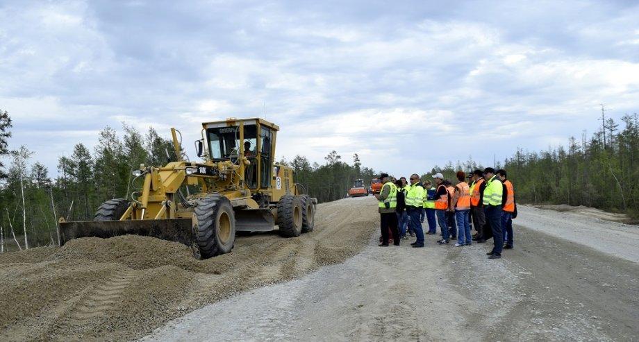 Отреставрированный участок трассы А-331 «Вилюй» с 55-го по 69-й км откроется в октябре 2018 года (фото: ФКУ Упрдор «Вилюй»)