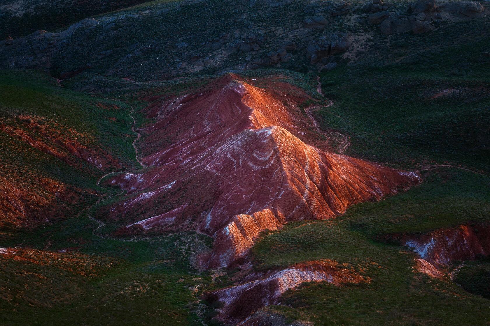 гора Большой Богдо