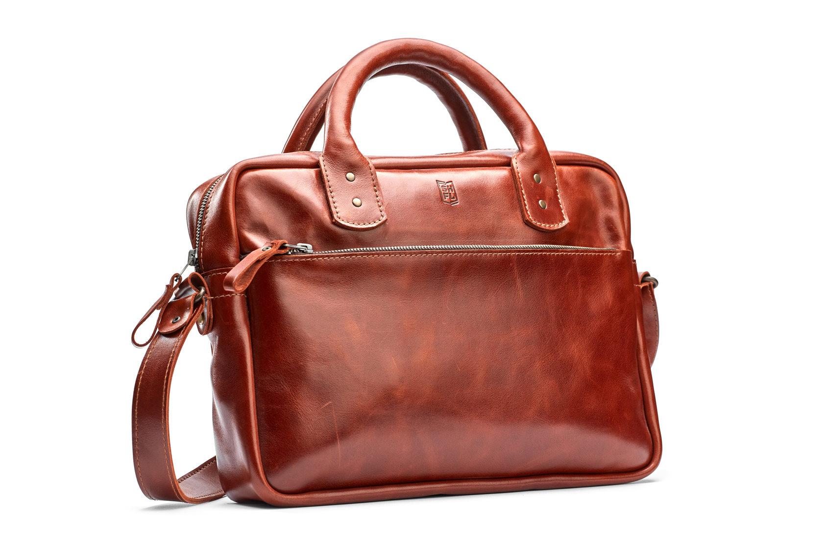 Шкіряний портфель SEVEN | Shuflia