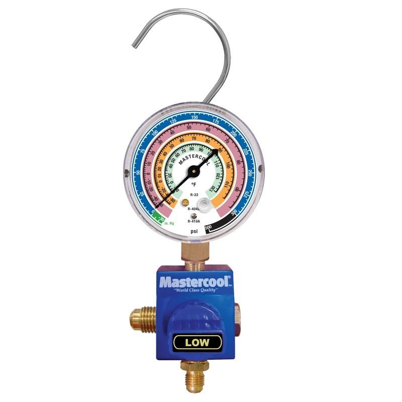 Манометрический коллектор низкого давления для заправки фреона