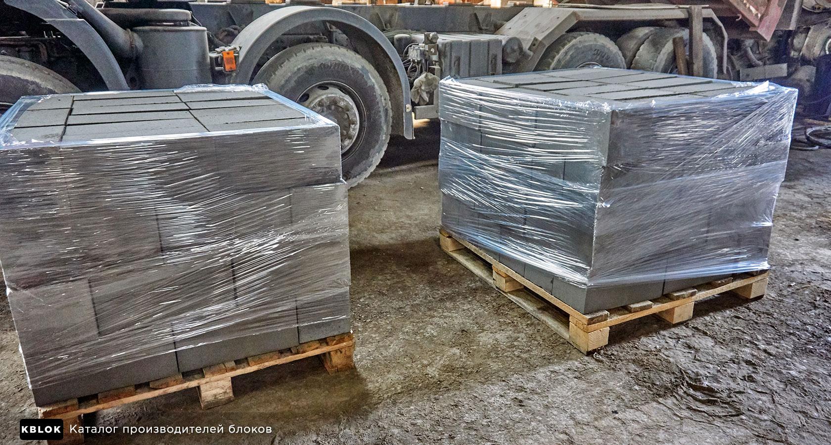 стрейч-лента для упаковки блоков