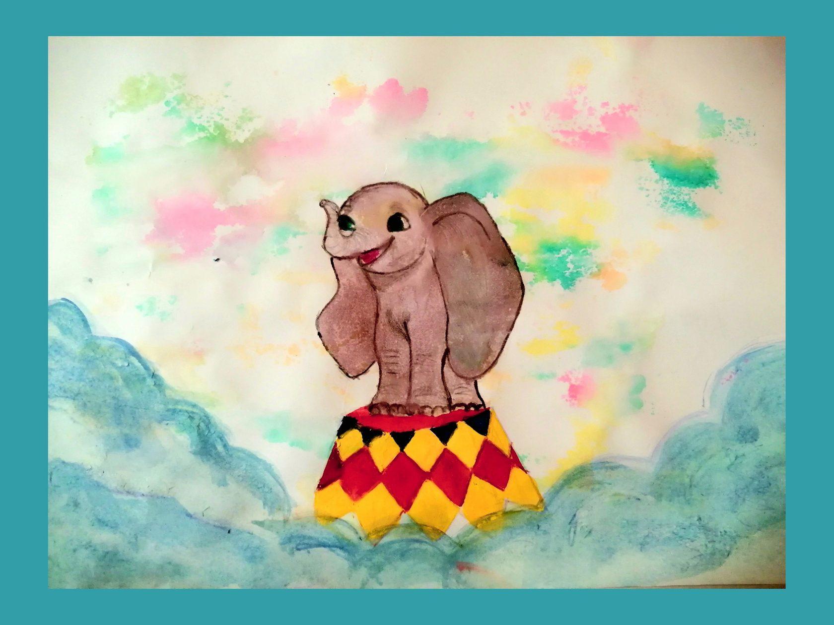 творческий конкурс рисуем слона