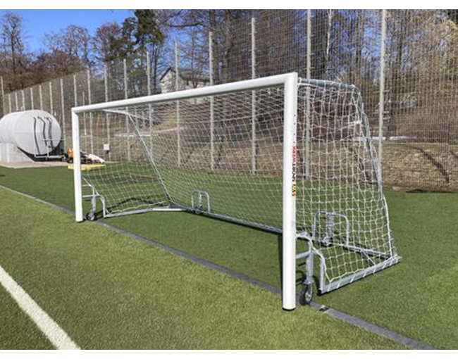 Представляем новые юношеские футбольные ворота с колесами!