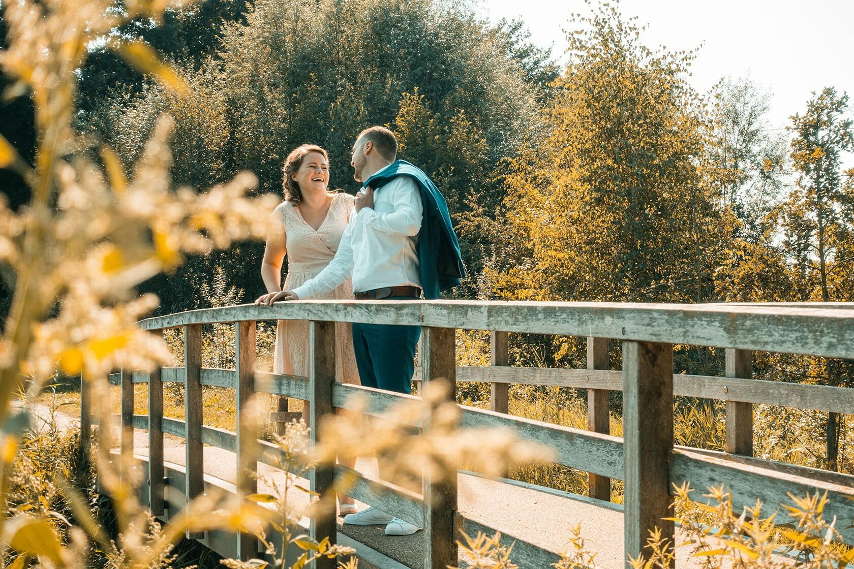 Foto van een stel van een bruiloft feest uit fotografie collectie mensen van Simon Wijers