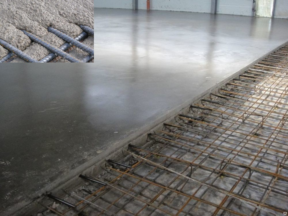 связка бетона