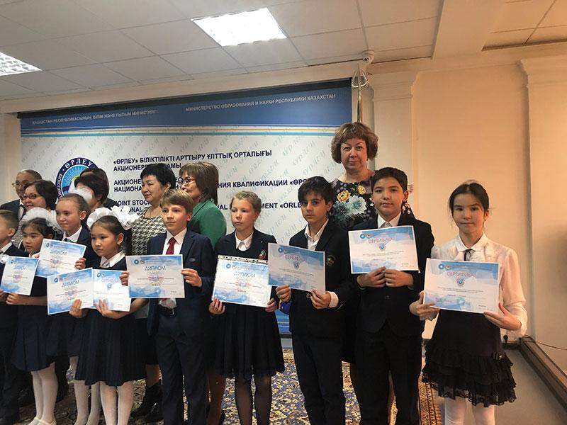 2019 год 4 А класс Городской конкурс по защите проектной работы начальных классов