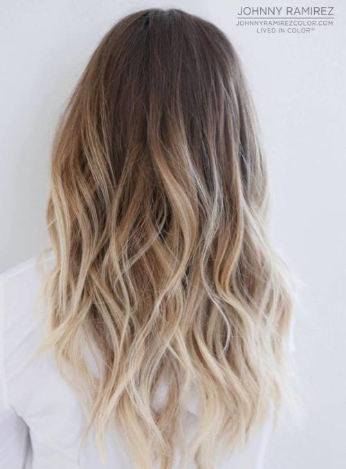 Окрашивание на мелированные волосы фото - 1b1b