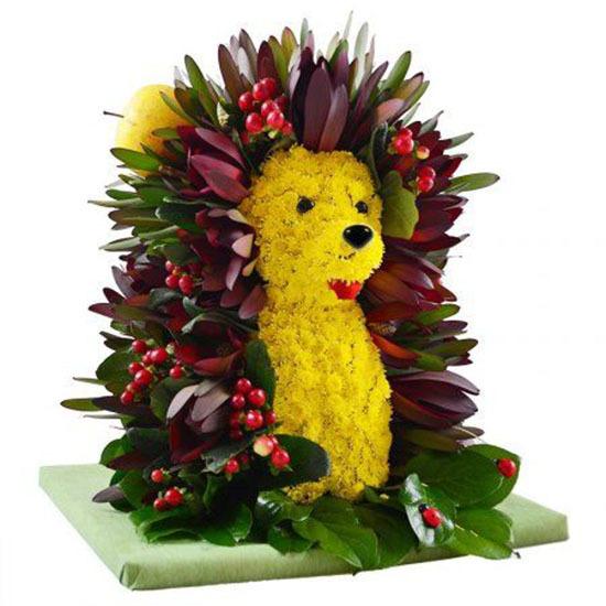 Цветок весенний, букеты в виде животных цены