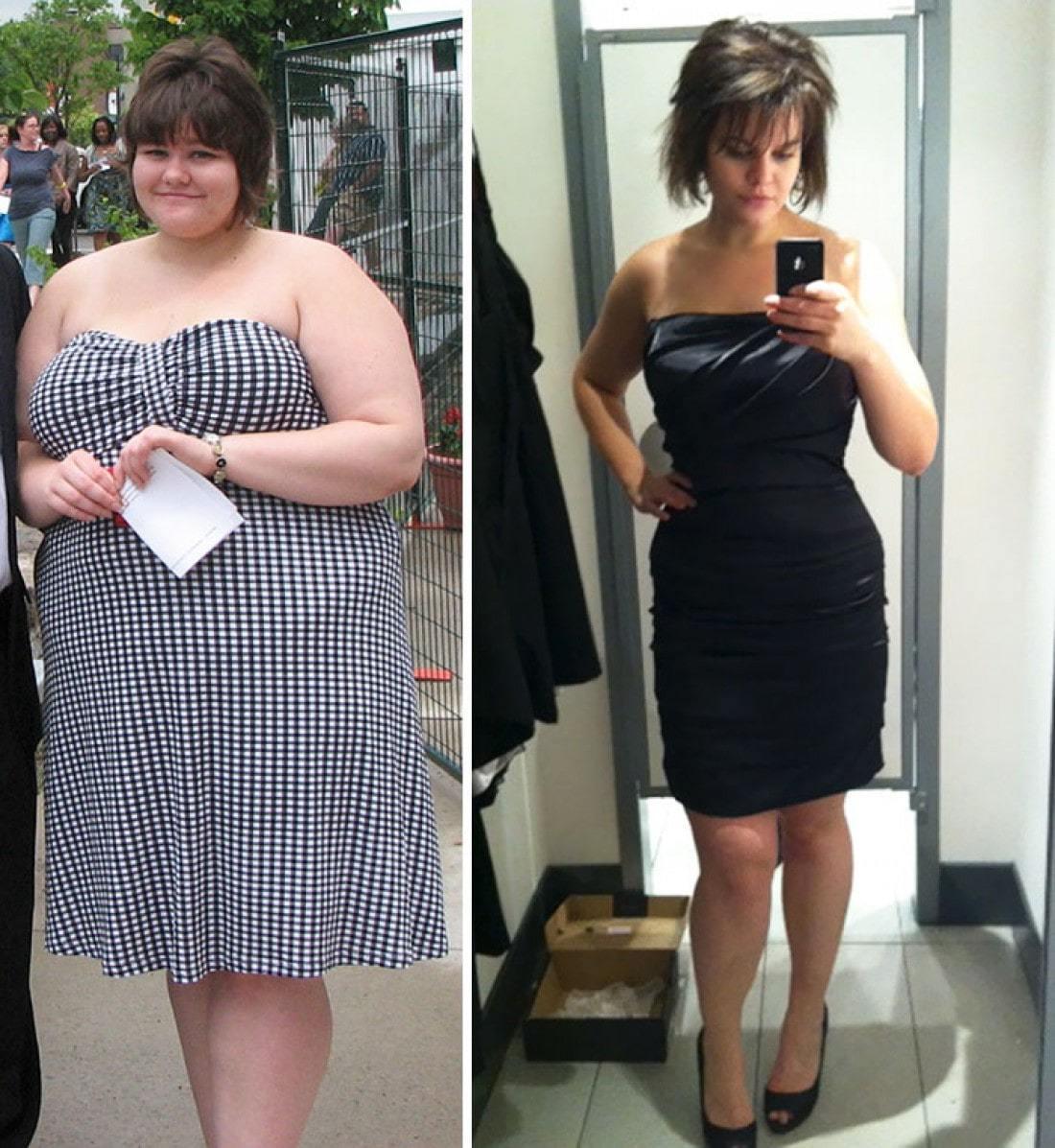 Кто из женщин сильно похудел