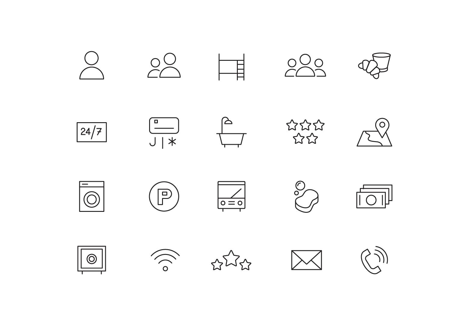 "Icons ""Hostel"""