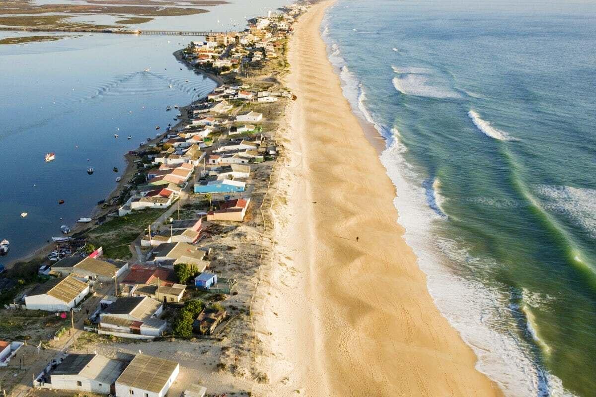 дома на побережье португалии