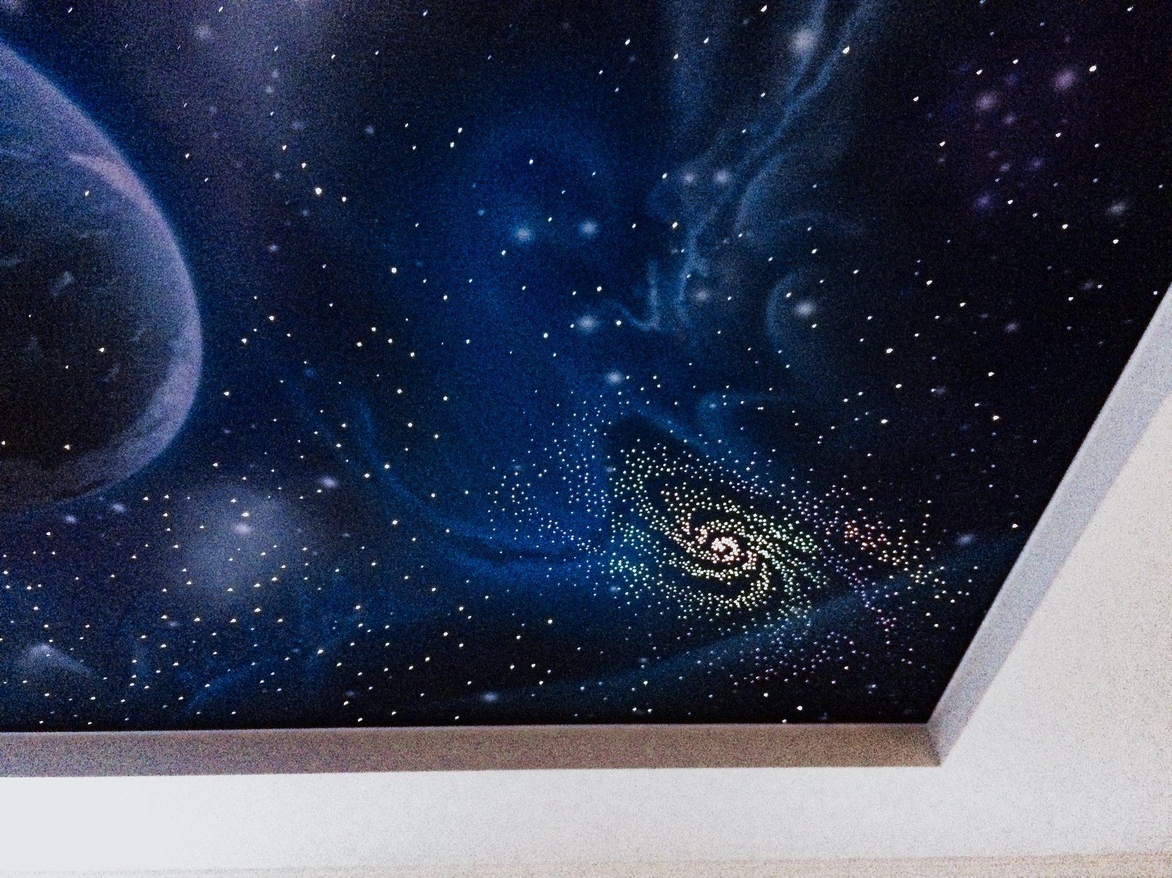 Потолки звездное небо в картинках