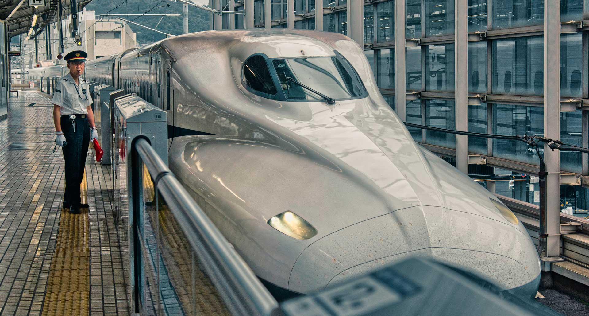 поезд пуля синкансэн япония