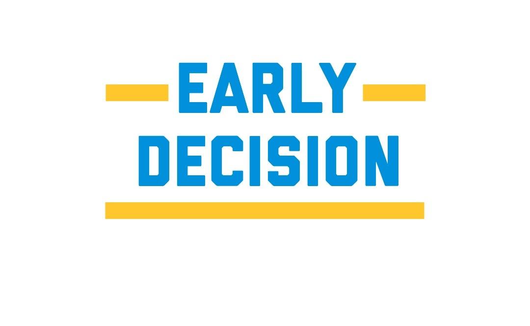 early decision университет сша