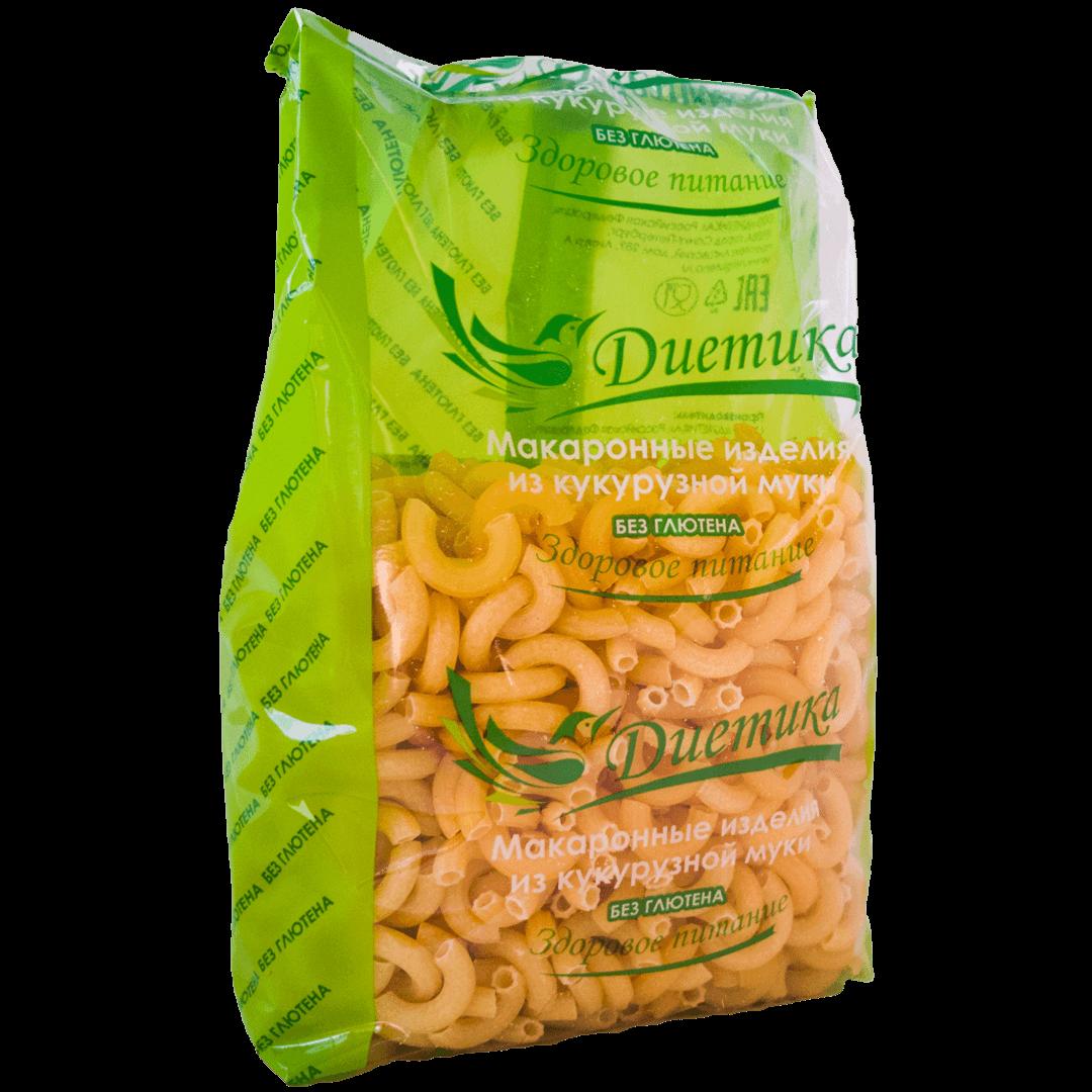 Кукурузные макароны и диета