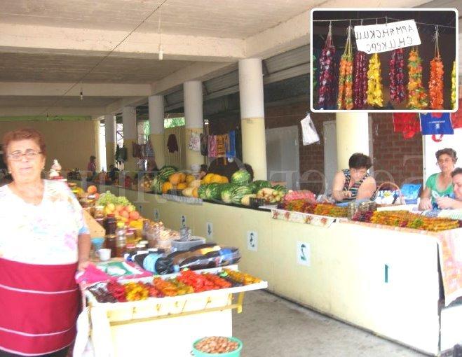 Продуктовый рынок в Лермонтово