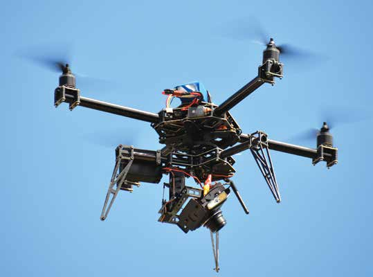 UAVs inspection