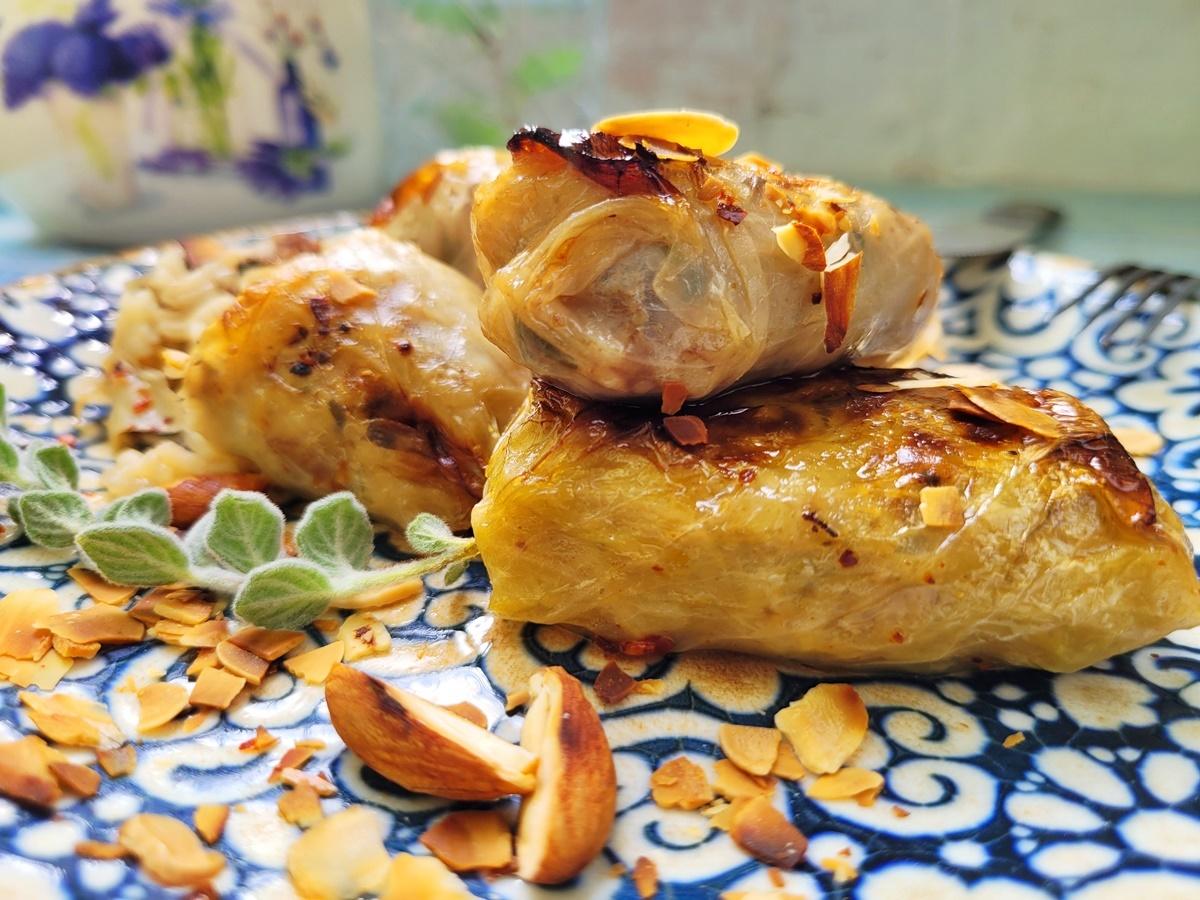 Голубцы в яблочном соке с пивом. Рецепт с фото. Израильская кухня.