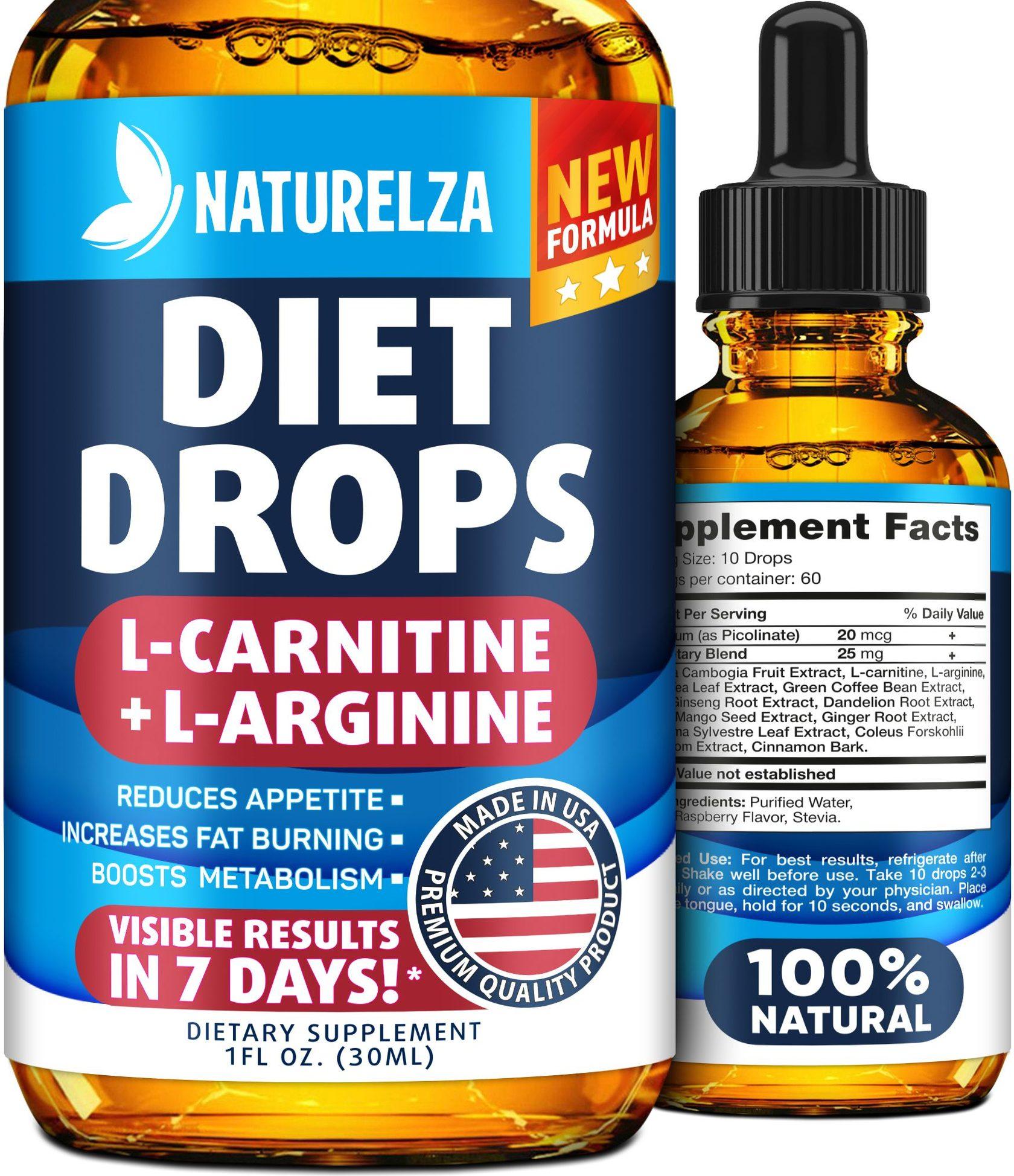 free bottle of diet drops naturelza