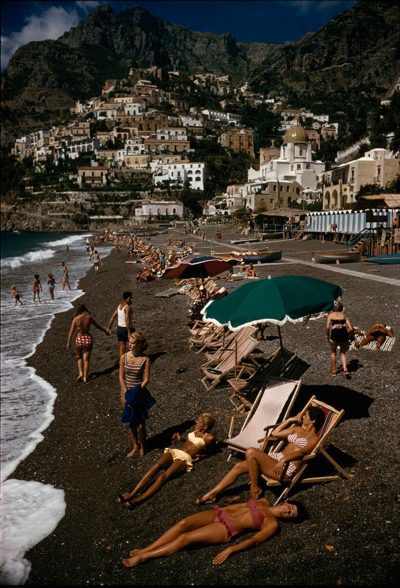 Позитано, Италия, 1959. Фотограф Луис Марден