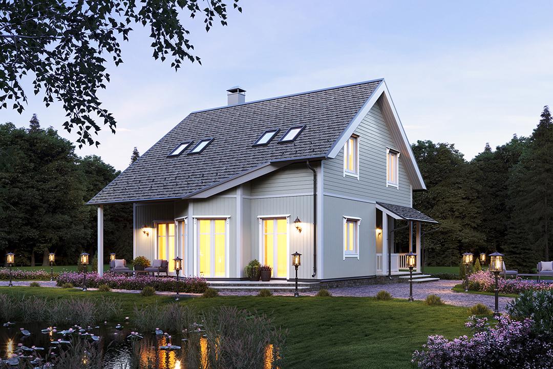 красивые проекты каркасных домов много фото головоломка учебника
