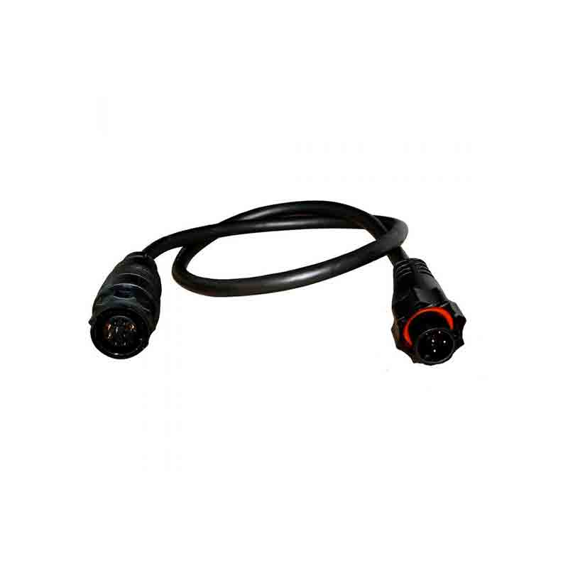 Lowrance 9PIN BLACK XDCR TO 7PIN BLUE ADAPTER