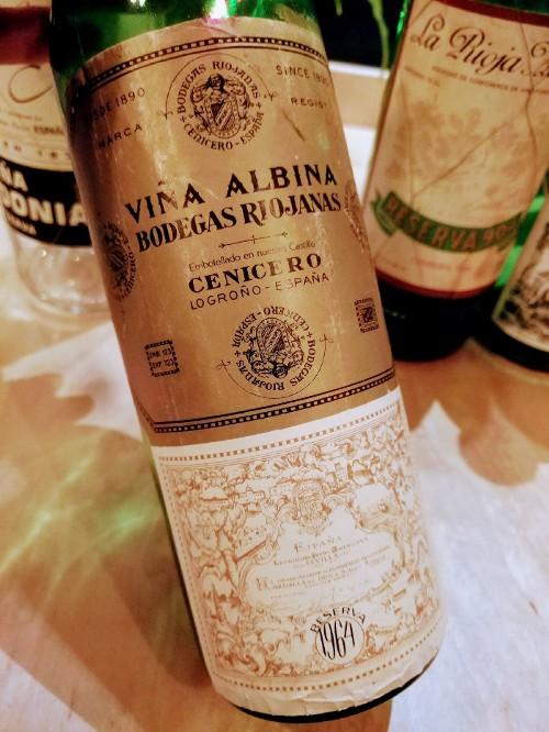 Bodegas Riojanas Rioja Viña Albina Reserva 1964