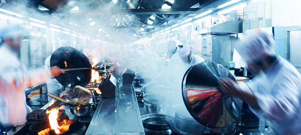 Тепловое оборудование в ресторане
