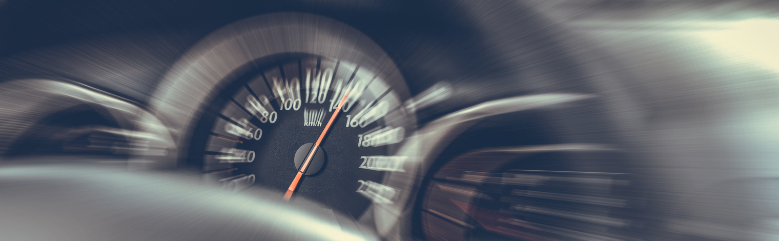 скорость на спидометре