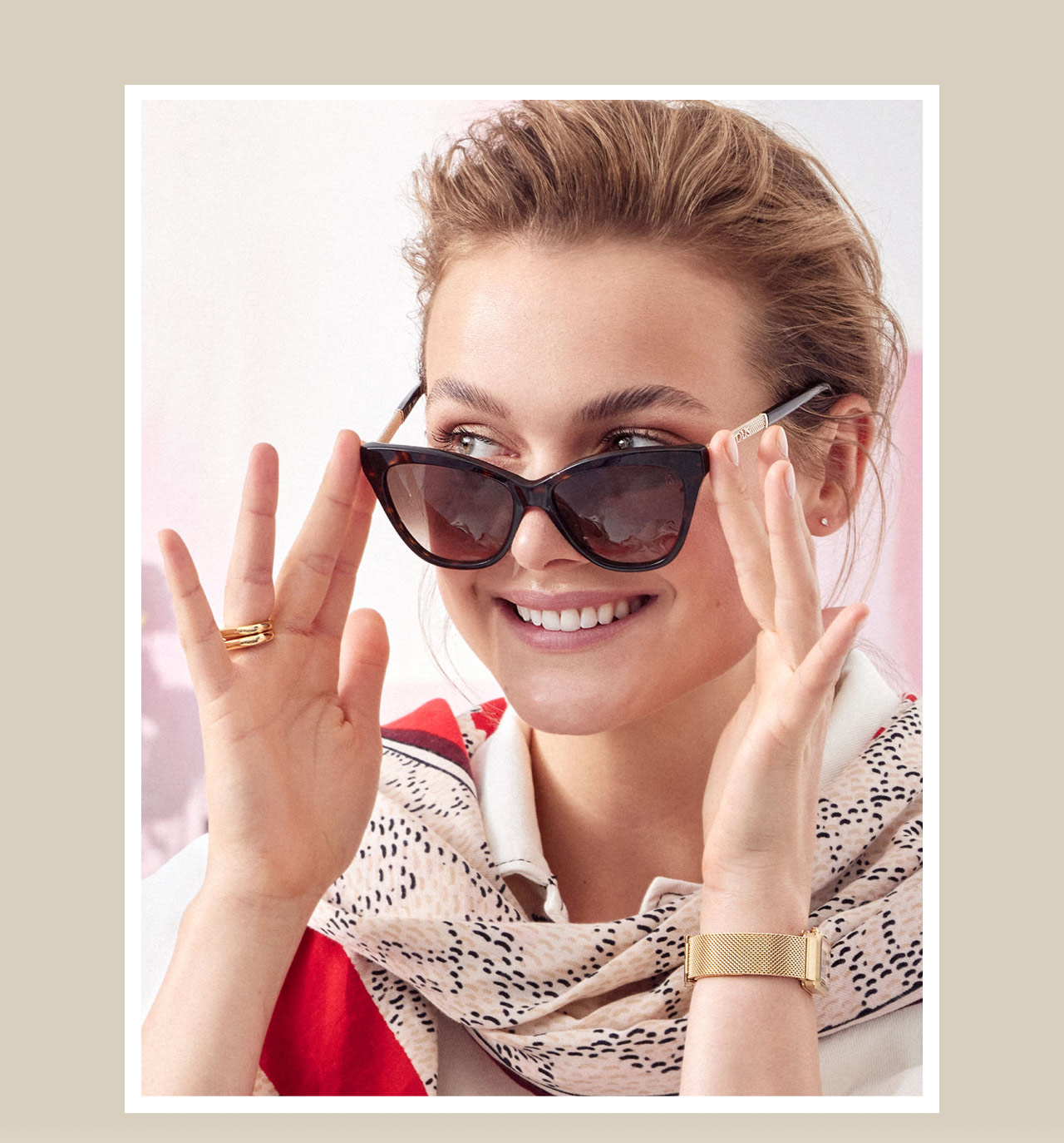 SUNGLASSES SUMMER WEEK BY TOUS!