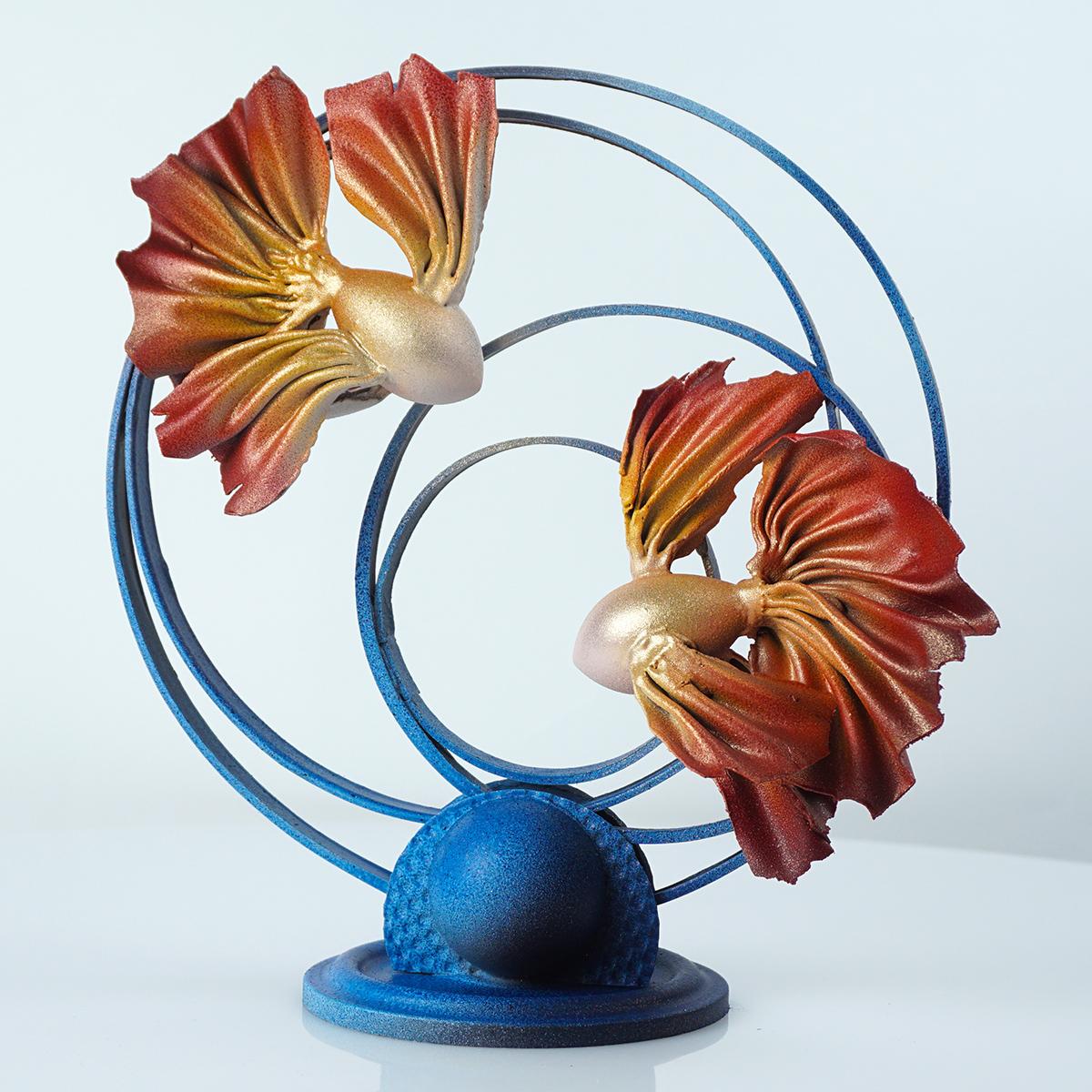 Урок - Свадебная композиция «Рыбки союз»