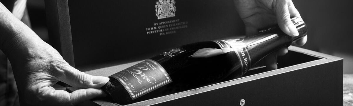 Pol Roger Cuvée Sir Winston Churchill 2006 (photo courtesy www.thefinestbubble.com)
