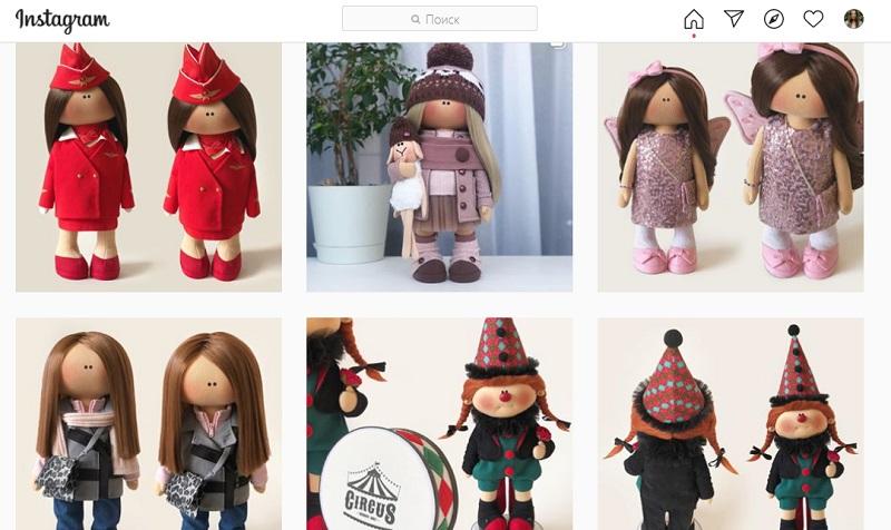 Страница по продаже игрушек ручной работы