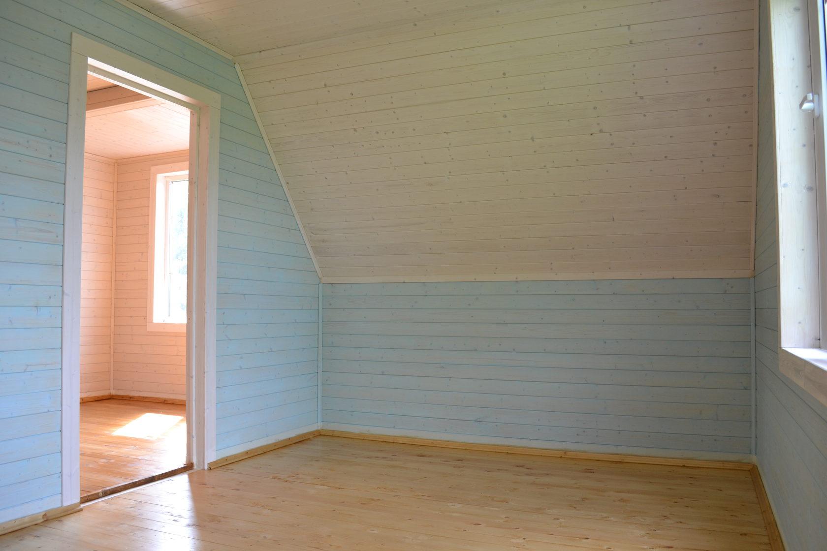 какой краской покрасить вагонку внутри помещения