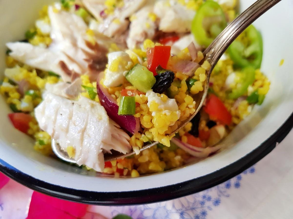 Рецепт салата Табуле с булгуром. Блог Вкусный Израиль.