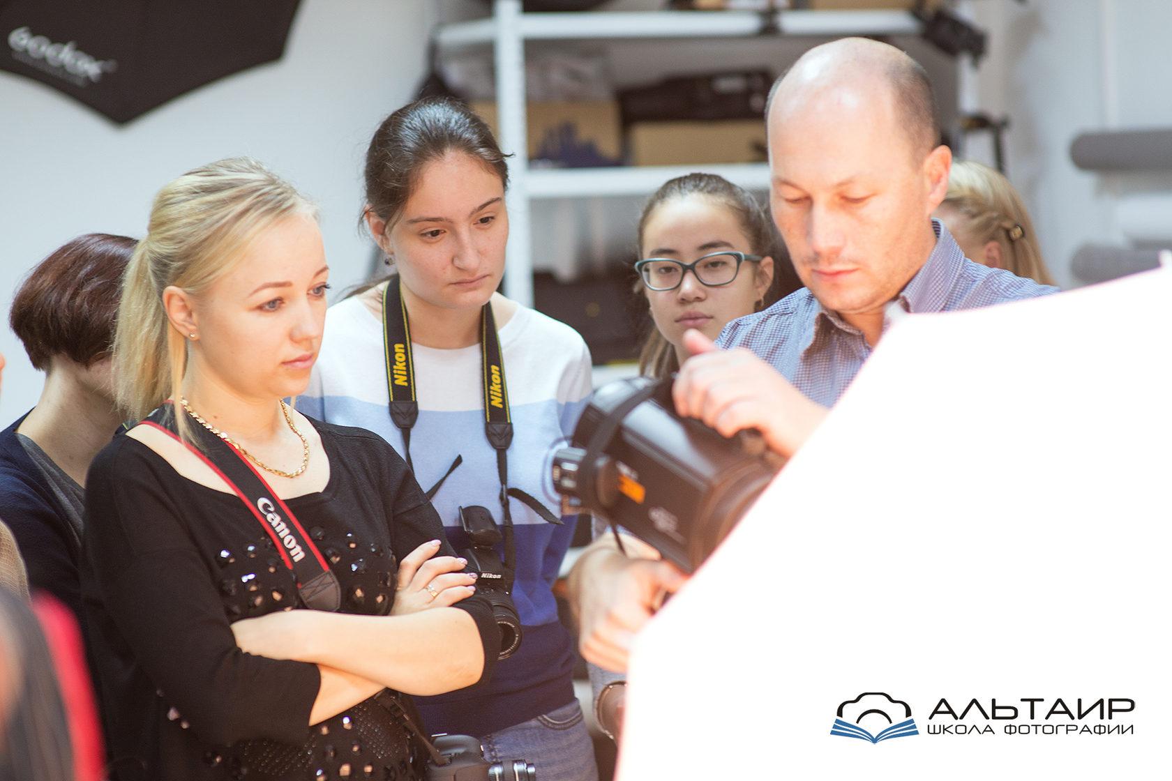 курсы фотографа для начинающих в москве недорого