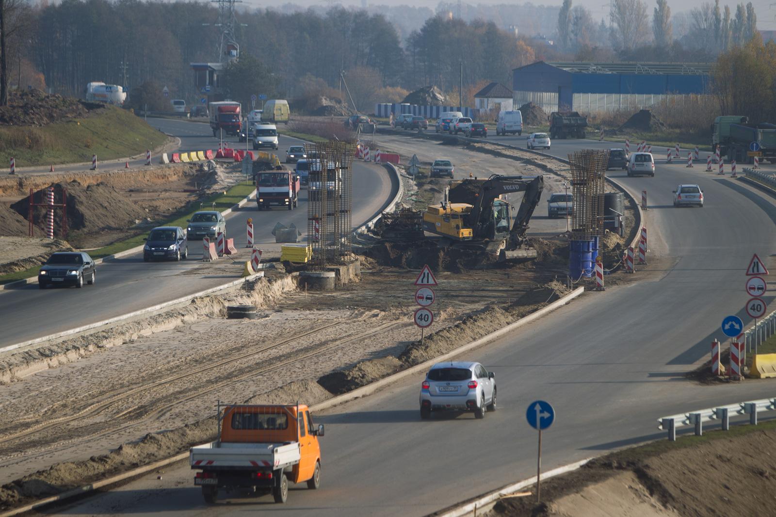 новые развязки дорог в калининграде фото может