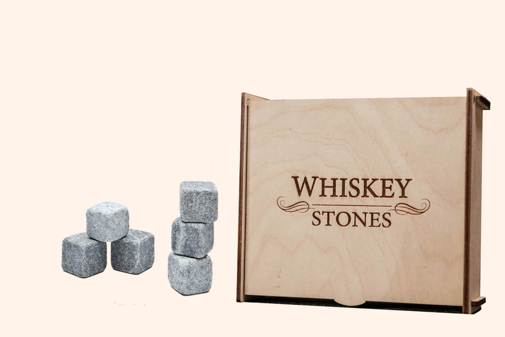 Подарунковий набір каменів для віскі від Whiskey Stones