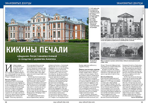 Кикины палаты. История