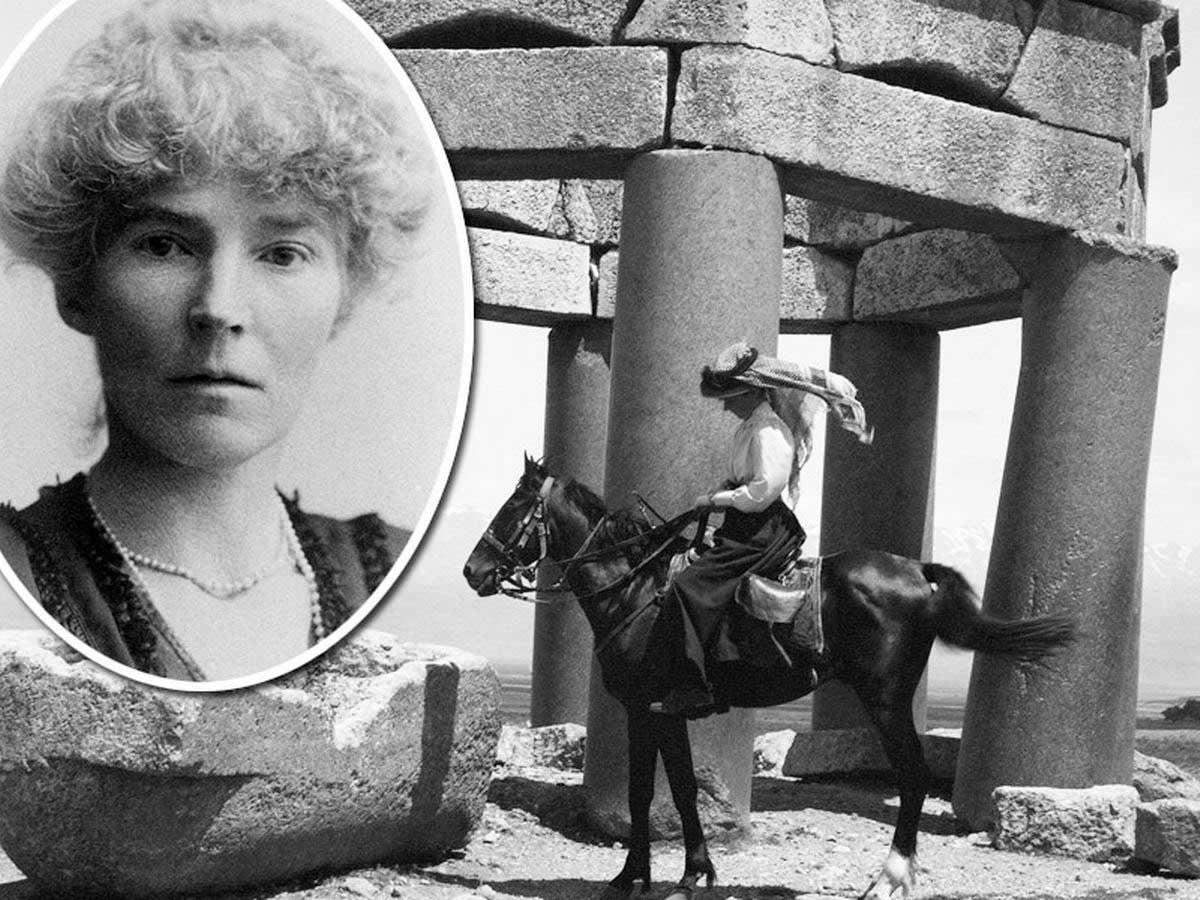 Гертруда Белл -английская путешественница, писательница, археолог и  политик