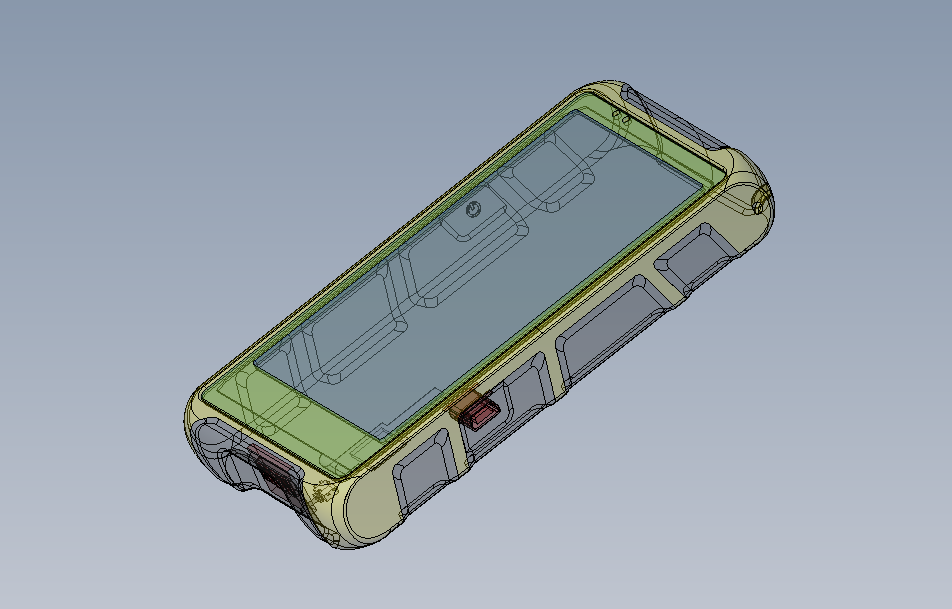 Разработка конструкции корпуса пульта