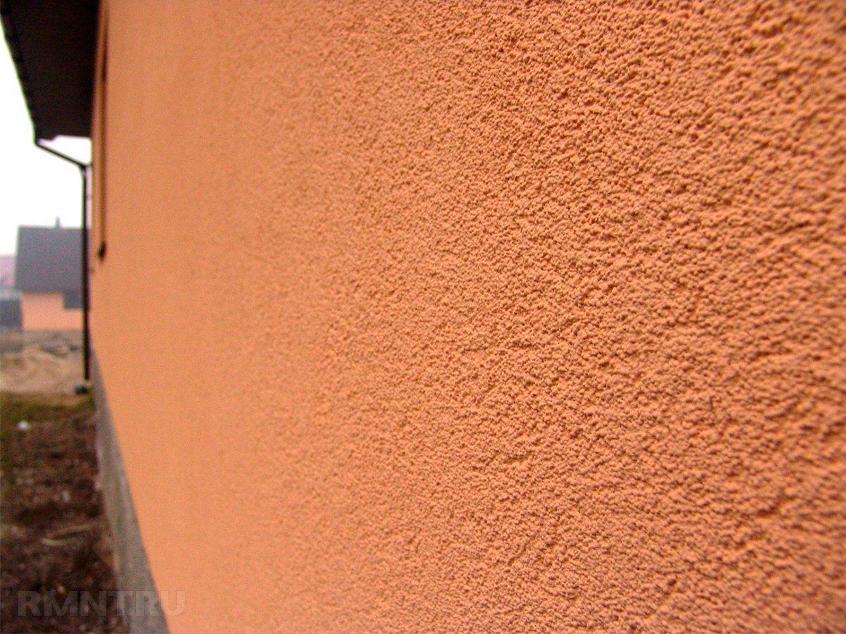 отделка наружных стен штукатуркой