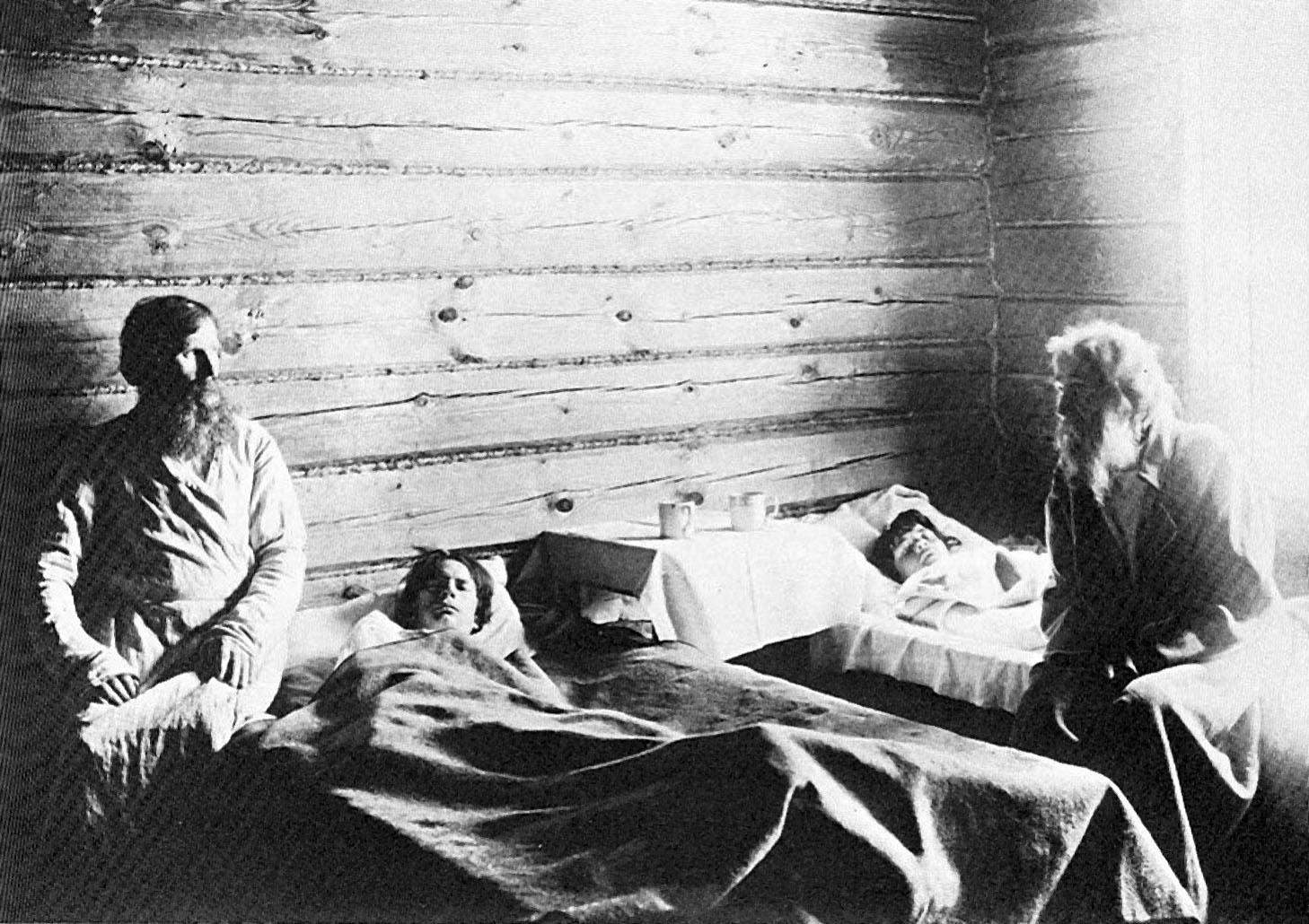 Максим Дмитриев. «В земской больнице» (1892).