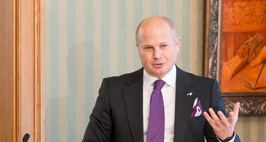 Генеральный директор представительства MAN в России Питер Андерссон с оптимизмом смотрит на перспективы компании в 2018 году (фото: MAN)