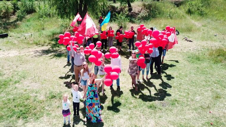 День рождения Партии Шария в Николаеве - фото