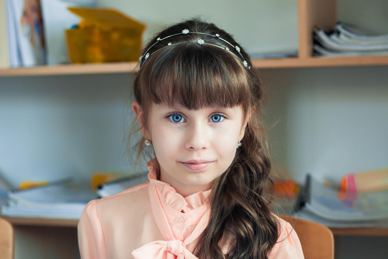 ученица центра детского образования 9 лет