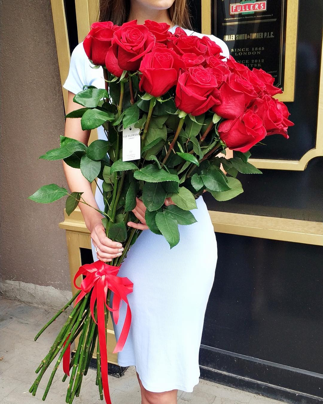 Заказать доставку роз на дом