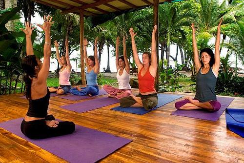 Йога для начинающих мастер класс